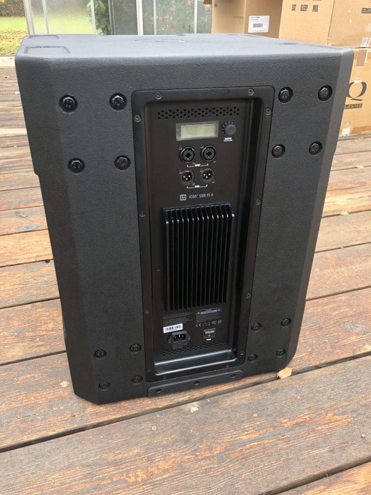 LD Systems ICOA SUB 15 A Test