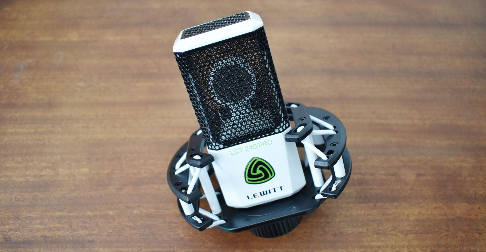 Test: Lewitt LCT240 Pro, Kondensatormikrofon - AMAZONA.de