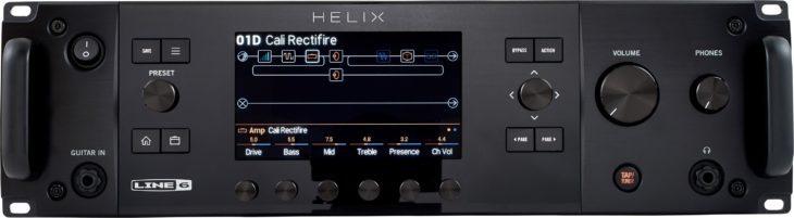 Line6 Helix Rack Test