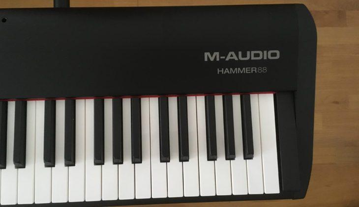 test m audio hammer 88