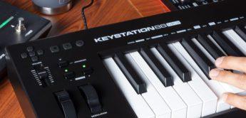 Update des USB-/MIDI-Controllerkeyboards: M-Audio Keystation 88 MK3