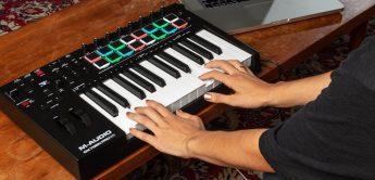 Mit Oxygen Pro erweitert M-Audio seine Controllerkeyboards