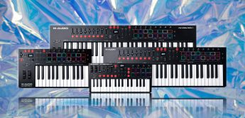 Test: M-Audio Oxygen Pro Mini 25, 49, 61, Controller-Keyboard