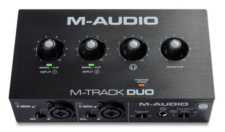 maudio mtrack duo solo