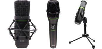 NAMM 2020: Mackie MC-350/450, EM-89D, 91C, USB, MP-In-Ears, Mikrofone/Kopfhörer
