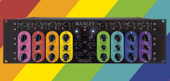 Manley Labs Massive Pride – Equalizer in Regenbogenfarben