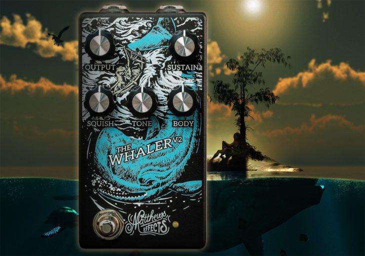 Matthews Effects The Whaler V2 Fuzz-Pedal