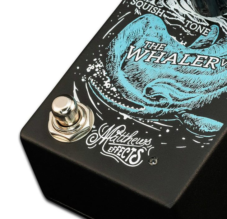 Matthews Effects The Whaler V2 Fuzz-Pedal Switch
