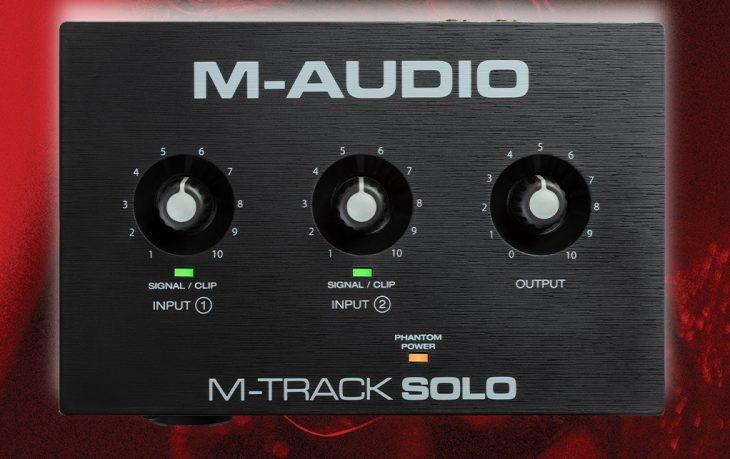 maudio mtrack solo duo
