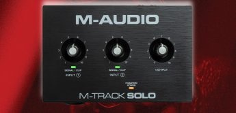 M-Audio M-Track Solo und Duo: Neue Homerecording-Interfaces ab 49,- Euro