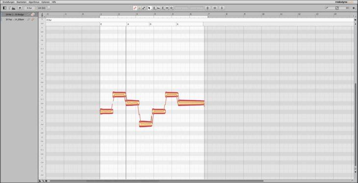 Melodyne 5 - Basslauf bearbeiten