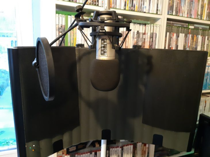 SM Pro Audio Mic Thing