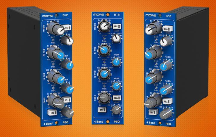 Midas 512 V2 EQ Parametric Equaliser Equalizer