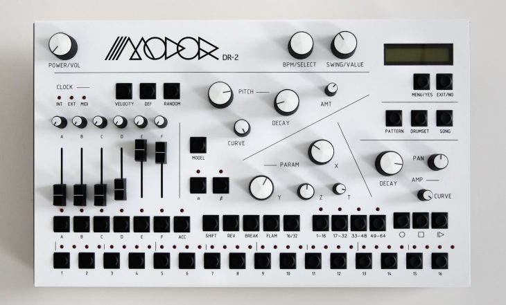 modor dr-2 drum machine synthesizer