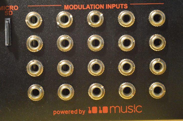 modulations eingaenge