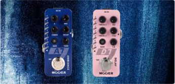 Test: Mooer D7, A7, Delay- & Reverb-Pedale