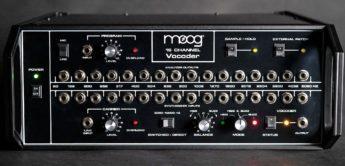 Der Moog 16 Channel Vocoder kommt zurück