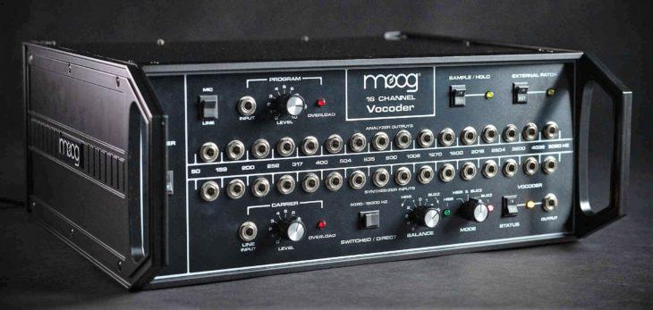 Moog 16 Channel Vocoder angle