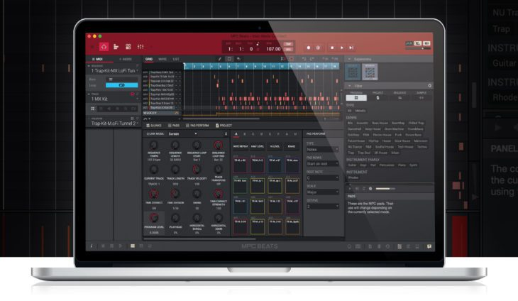 akai mpc beats software
