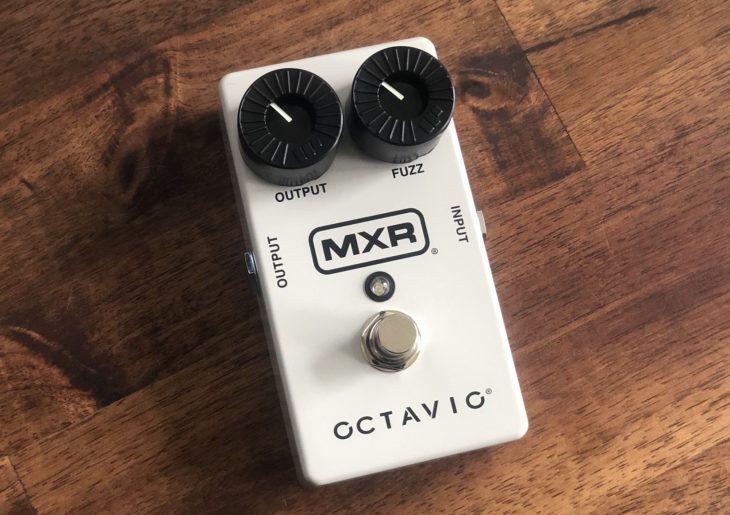 MXR Octavio Fuzz-Pedal Buttons