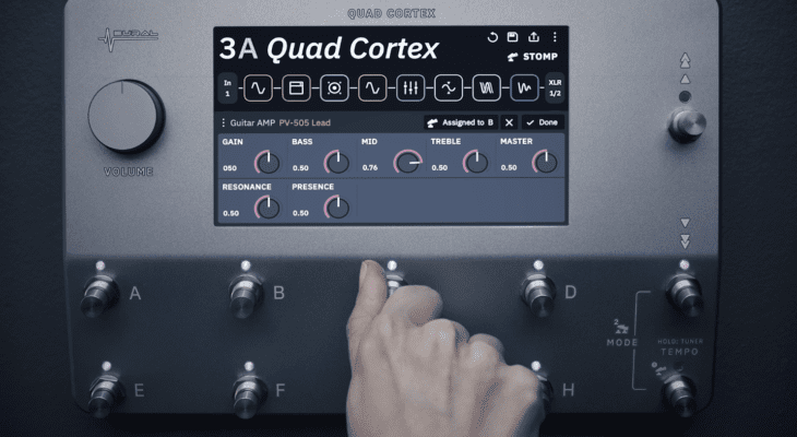NAMM 2020 Neural DSP Quad Cortex