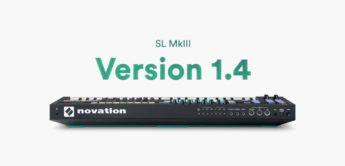 Novation SL MK3 Update 1.4 mit mehr Arpeggiator-Features