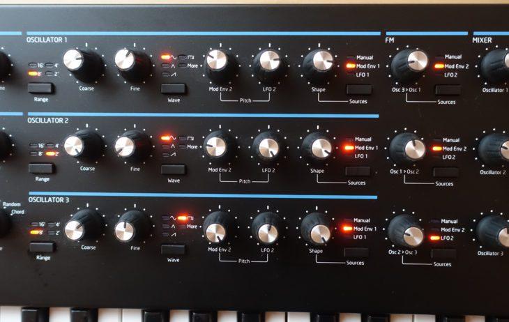 Novation Summit - Oscillators