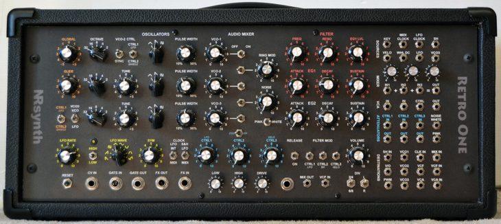 NRsynth Retro One Synthesizer