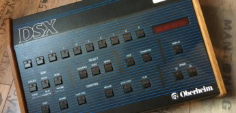 Blue Box: Oberheim DSX Analogsequencer (1981)
