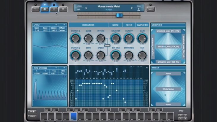 Wolfgang Palm total morph ppg infinite synthesizer