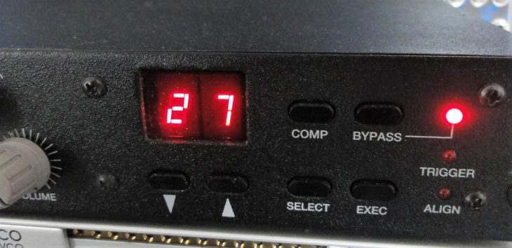 peavey spectrum analog filter display