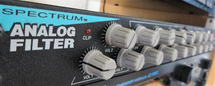 spectrum analog filter front 2