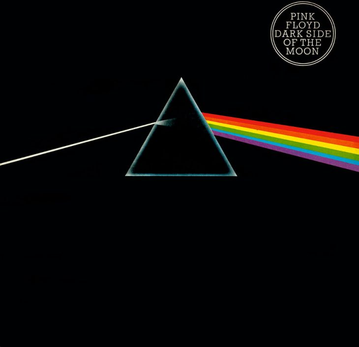 "Das berühmte Cover von ""The Dark Side of the Moon"" mit dem Prisma."