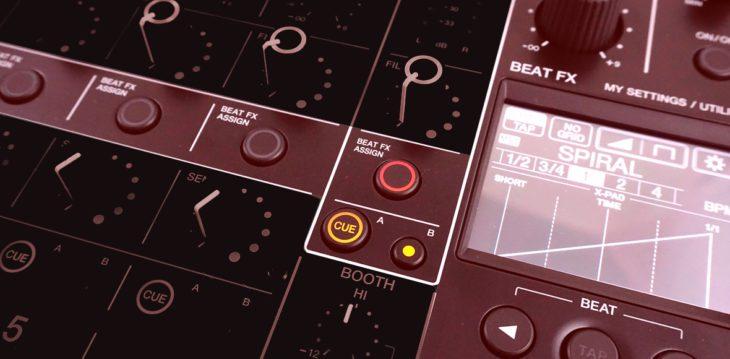 Pioneer DJM-V10 Effekte