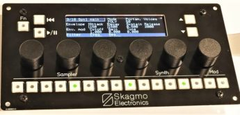 Skagmo Electronics zeigt Prototyp des Polynorth Hybrid-Synthesizers