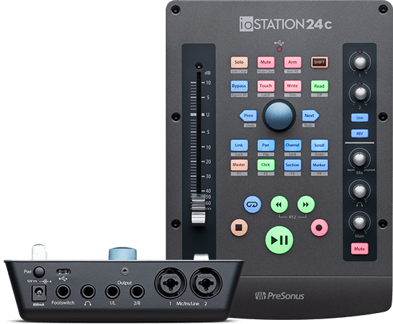 presonus iostation 24c test