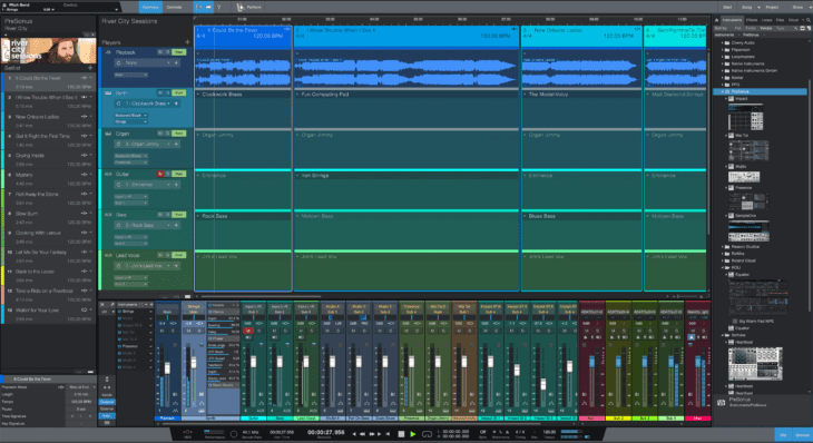 presonus studio one 5 mix