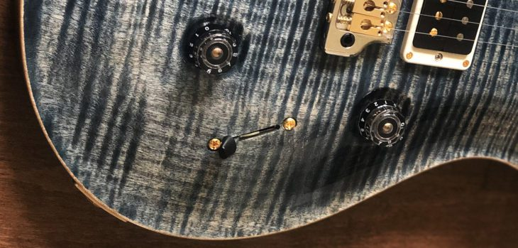 PRS Custom 24 10Top E-Gitarre Schaltung