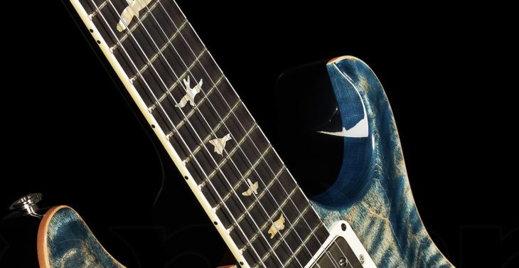 PRS McCarty 594 Faded Whale Blue E-Gitarre Cutaway