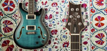 Test: PRS SE Hollowbody II Piezo, E-Gitarre