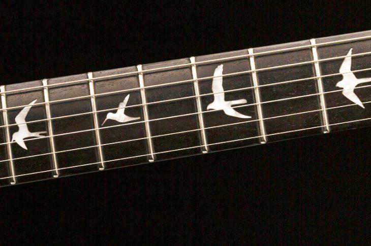PRS SE Mira E-Gitarre Inlays