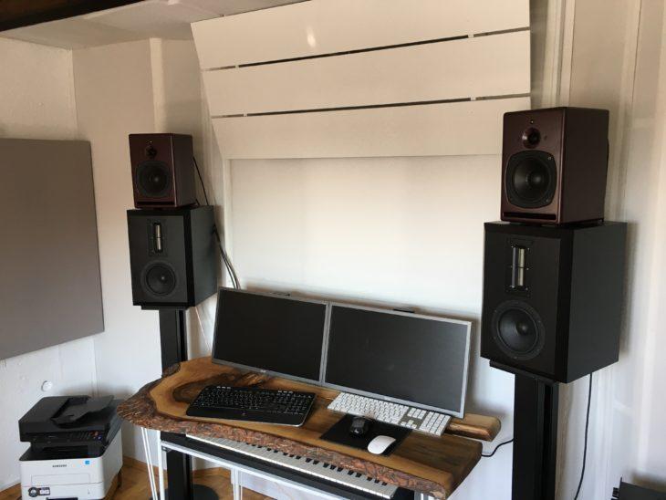 PSI Audio, A17-M Studio Red vs Verdade