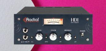 Radial Engineering HDI: Hochwertige DI-Box fürs Tonstudio