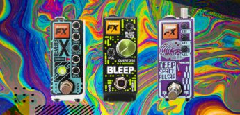 Test: Rainger FX Deep Space, Reverb X & Bleep, Gitarrenpedale