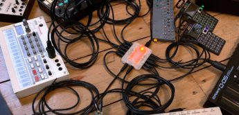 Superbooth 20: Retrokits RK-006, Standalone MIDI-Router/Hub