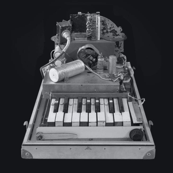 Leon Theremins Rhythmicon, Original aus den frühen 1960er Jahren