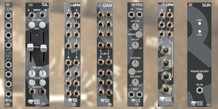 rides in the storm eurorack module