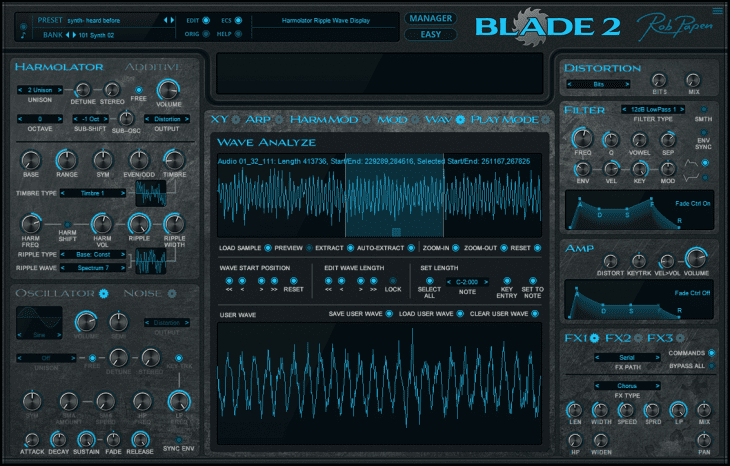 rob papen blade 2 analyse