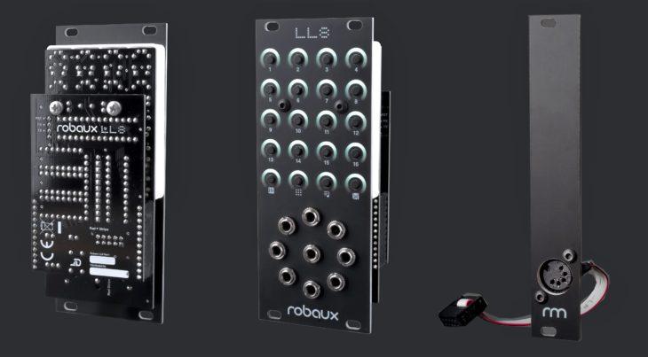 robaux ll8 eurorack sequencer modul