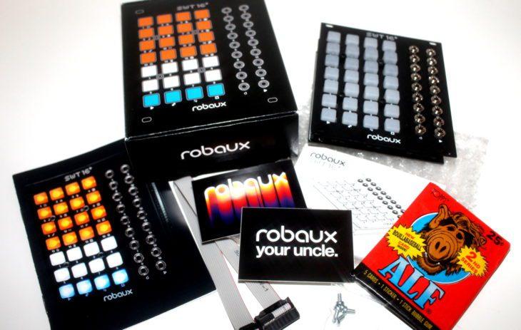 ROBAUX SWT16+ Triggersequencer USERBILD PACKUNGSINHALT